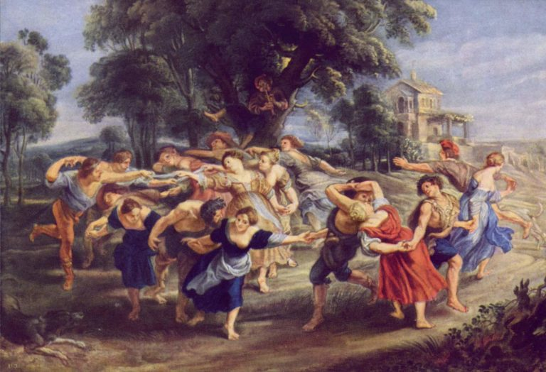 Bauerntanz | Peter Paul Rubens | oil painting