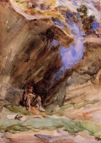 Bivouac | John Singer Sargent | oil painting