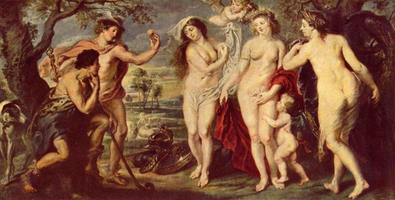 Urteil des Paris | Peter Paul Rubens | oil painting