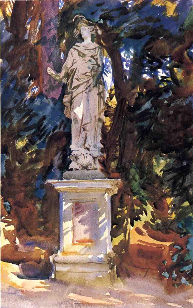 Boboli   John Singer Sargent   oil painting