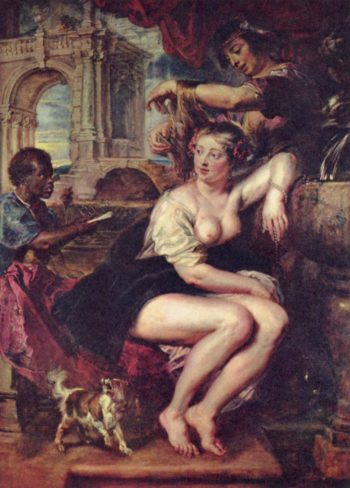 Bathseba am Brunnen | Peter Paul Rubens | oil painting