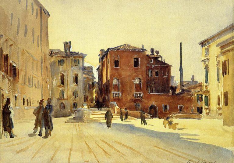 Campo Dei Gesuiti | John Singer Sargent | oil painting