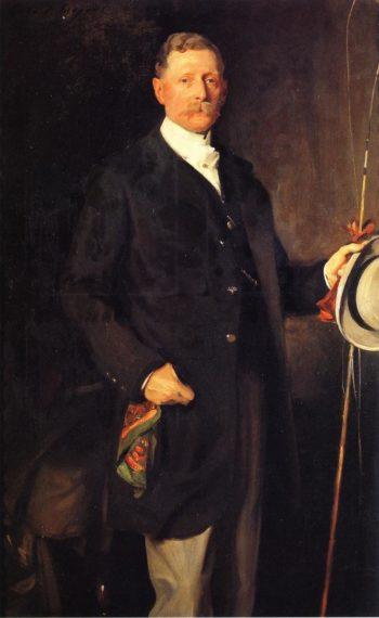 Captain John Spicer | John Singer Sargent | oil painting