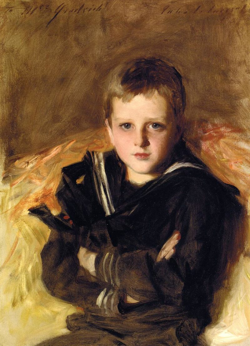 Caspar Goodrich   John Singer Sargent   oil painting