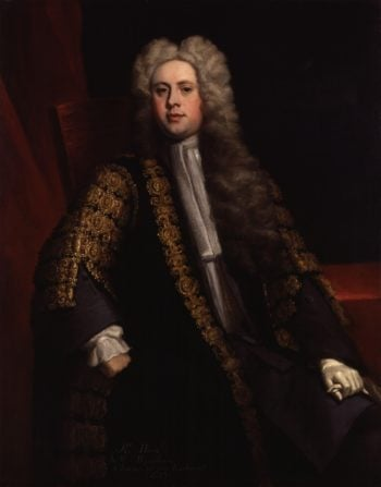 Sir William Wyndham 3rd | Jonathan Richardson | oil painting
