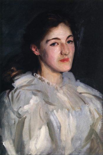 Cecily Homer | John Singer Sargent | oil painting