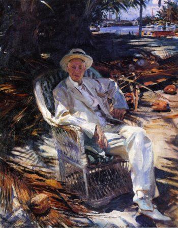 Charles Deering | John Singer Sargent | oil painting