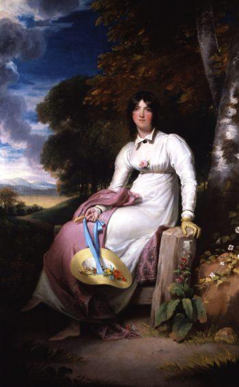 Sophia Lady Burdett | Sir Thomas Lawrence | oil painting