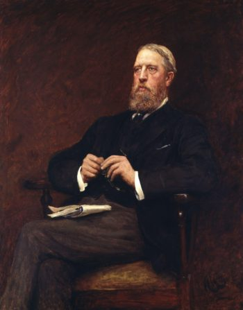 Spencer Compton Cavendish 8th Duke of Devonshire | Sir Hubert von Herkomer | oil painting