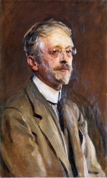 Charles Woodbury | John Singer Sargent | oil painting