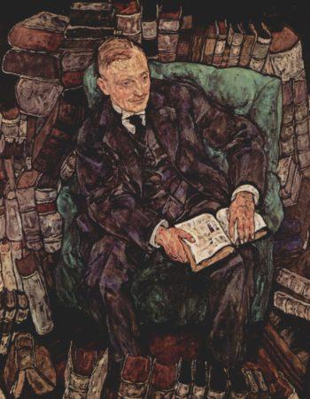 Portr?t des Hugo Koller | Egon Schiele | oil painting