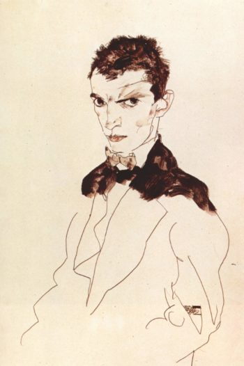 Selbstportr?t | Egon Schiele | oil painting
