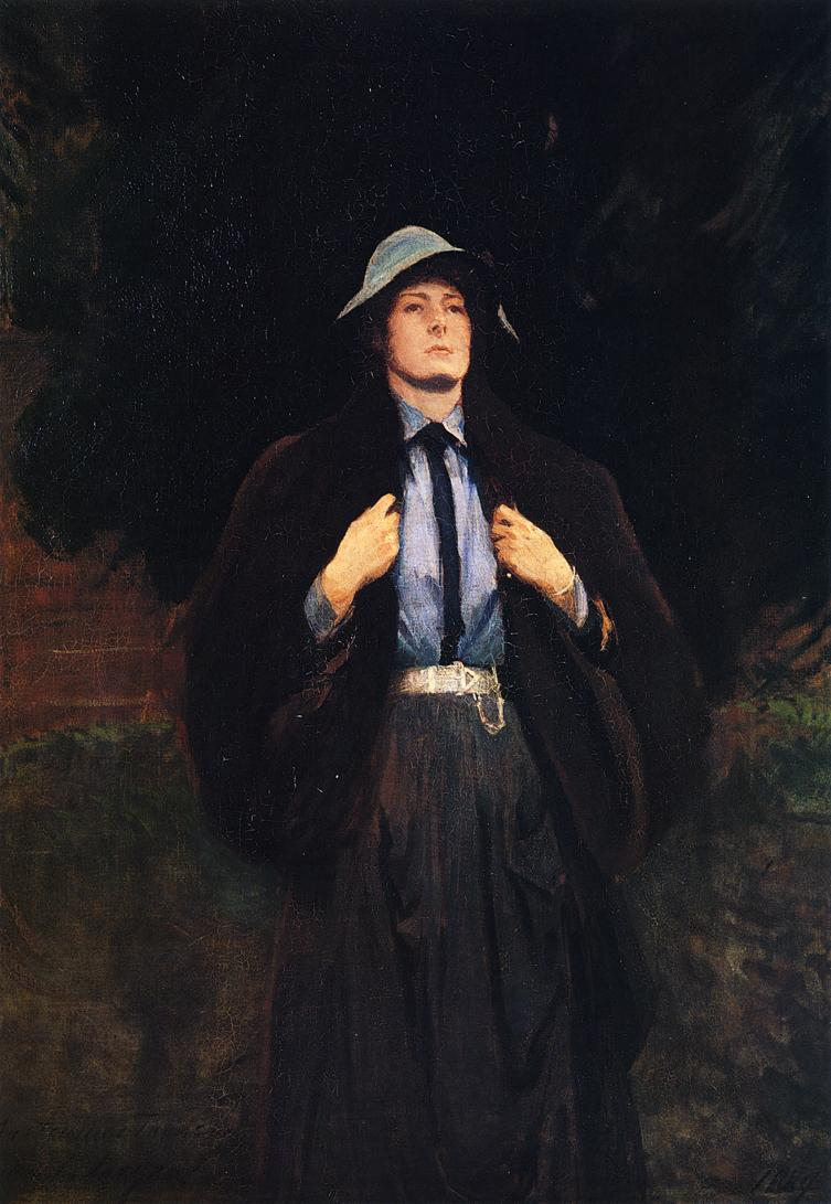 Clementina Austruther Thompson | John Singer Sargent | oil painting