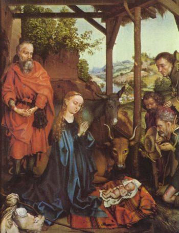 Anbetung der Hirten | Schongauer