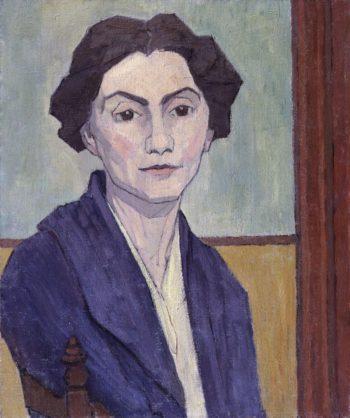 Stanislawa Bevan nae de Karlowska | Robert Polhill Bevan | oil painting