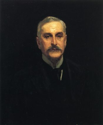 Colonel Thomas Edward Vickers | John Singer Sargent | oil painting