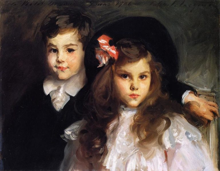 Conrad and Reine Ormand | John Singer Sargent | oil painting