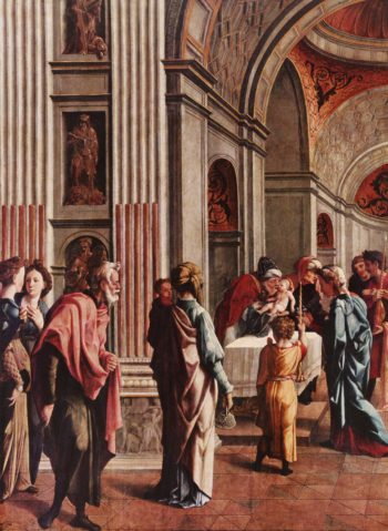 Darbringung im Tempel | Scorel