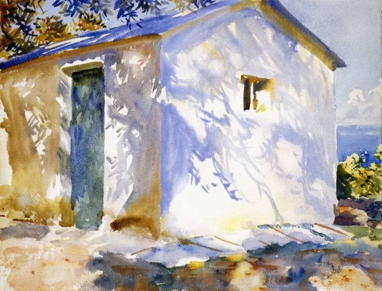 Corfu Lights and Shadows | John Singer Sargent | oil painting
