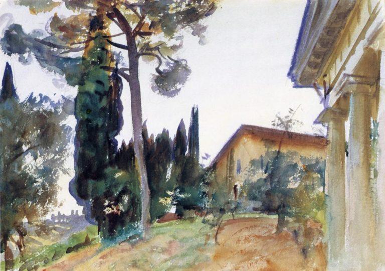 Corfu | John Singer Sargent | oil painting