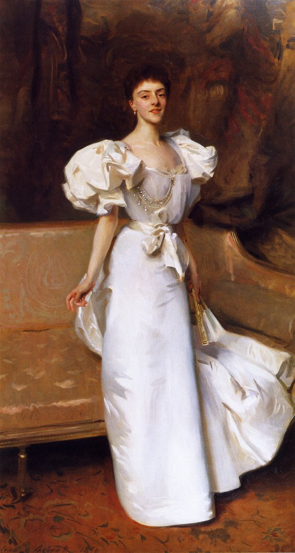 Countess Clary Aldringen   John Singer Sargent   oil painting