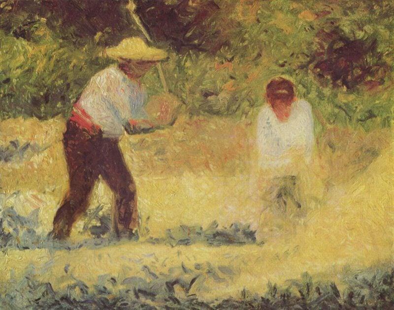 Steinbrecher   Georges Seurat   oil painting