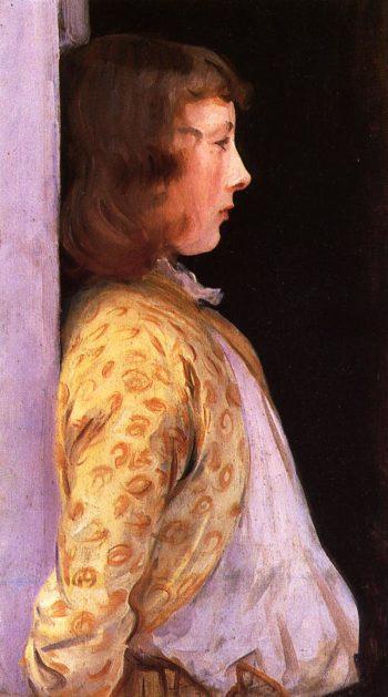 Dorothy Barnard | John Singer Sargent | oil painting
