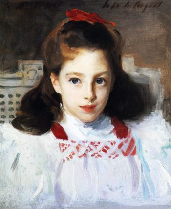 Dorothy Vickers   John Singer Sargent   oil painting