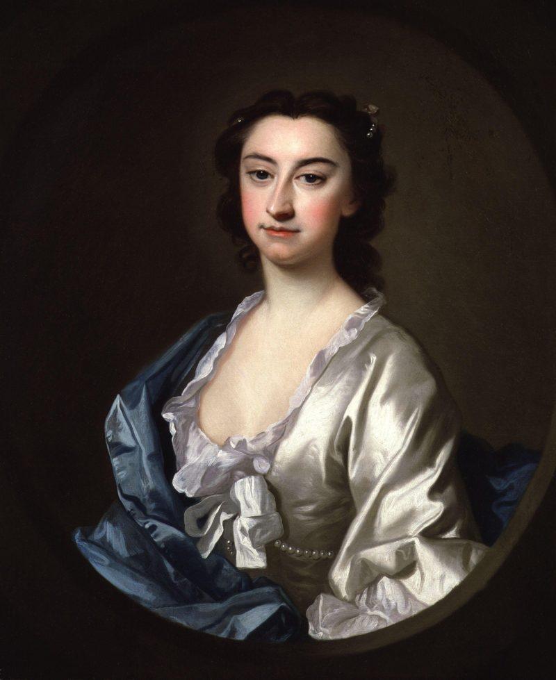 Susannah Maria Cibber nae Arne | Thomas Hudson | oil painting