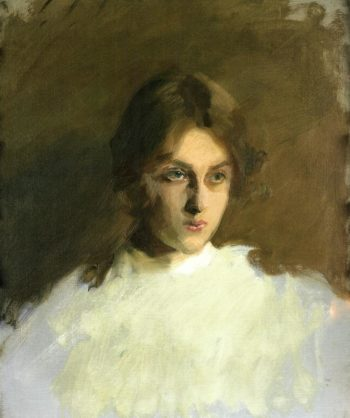 Edith French | John Singer Sargent | oil painting