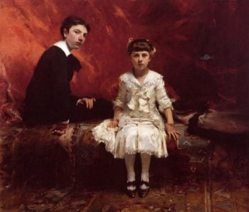 Edouard and Marie Louise Pailleron | John Singer Sargent | oil painting