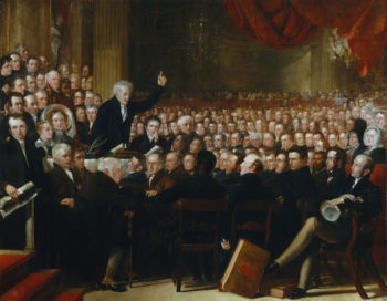 The Anti Slavery Society Convention 1840 | Benjamin Robert Haydon | oil painting