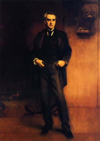 Edwin Booth | John Singer Sargent | oil painting