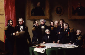 The Arctic Council planning a search for Sir John Franklin | Stephen Pearce | oil painting