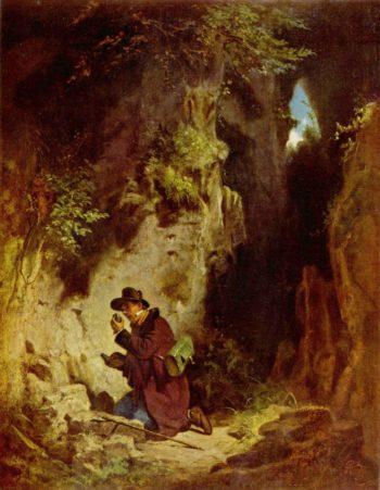 Der Geologe | Carl Spitzweg | oil painting