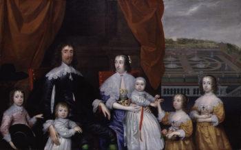 The Capel Family   Cornelius Johnson   oil painting