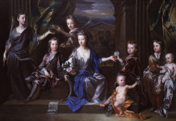 The Children of John Taylor of Bifrons Park   John Closterman   oil painting