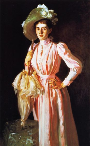 Eleanor Brooks | John Singer Sargent | oil painting