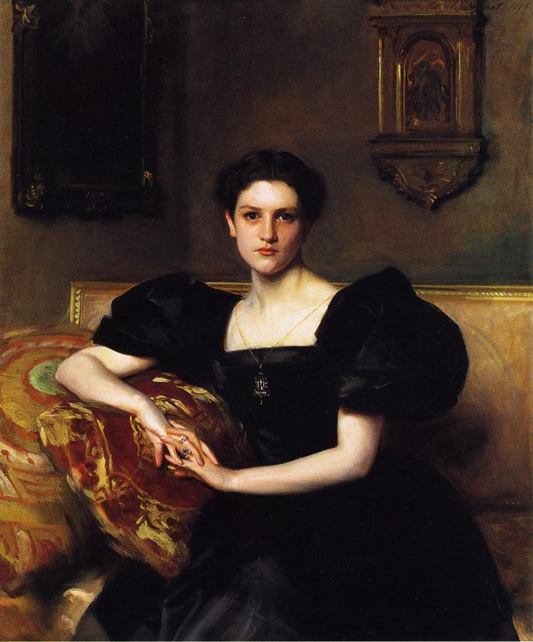 Elizabeth Chanler | John Singer Sargent | oil painting
