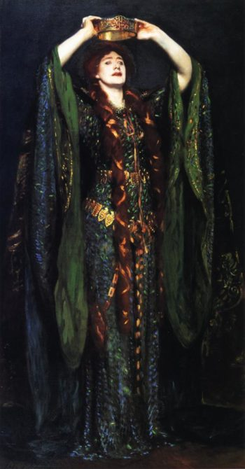 Ellen Terry as Lady Macbeth | John Singer Sargent | oil painting