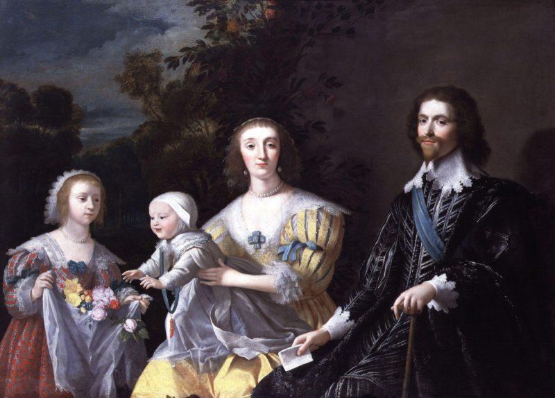 The Duke of Buckingham and his Family   Gerrit van Honthorst   oil painting