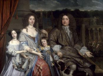 The Family of Sir Robert Vyner   John Michael Wright   oil painting