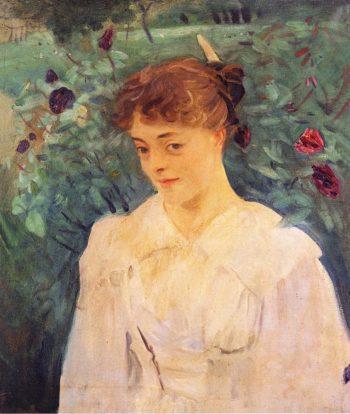Elsie Palmer | John Singer Sargent | oil painting