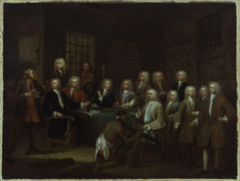 The Gaols Committee of the House of Commons | William Hogarth | oil painting