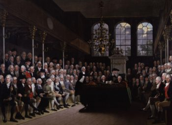 The House of Commons 1793 94 | Karl Anton Hickel | oil painting