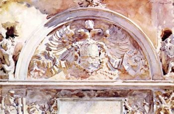 Escutcheon of Charles V | John Singer Sargent | oil painting