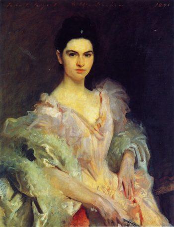 Etta Dunham | John Singer Sargent | oil painting