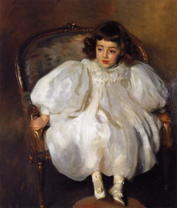 Expectancy | John Singer Sargent | oil painting