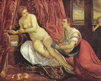 Danae | Jacopo Tintoretto | oil painting