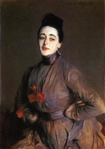 Flora Priestley | John Singer Sargent | oil painting